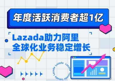 年度活跃消费者超1亿,Lazada助力阿里全球化业务稳定增长